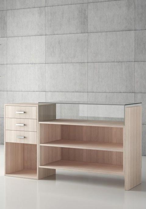 comptoir quadratum esth tisme modularit prix equippro agencement. Black Bedroom Furniture Sets. Home Design Ideas