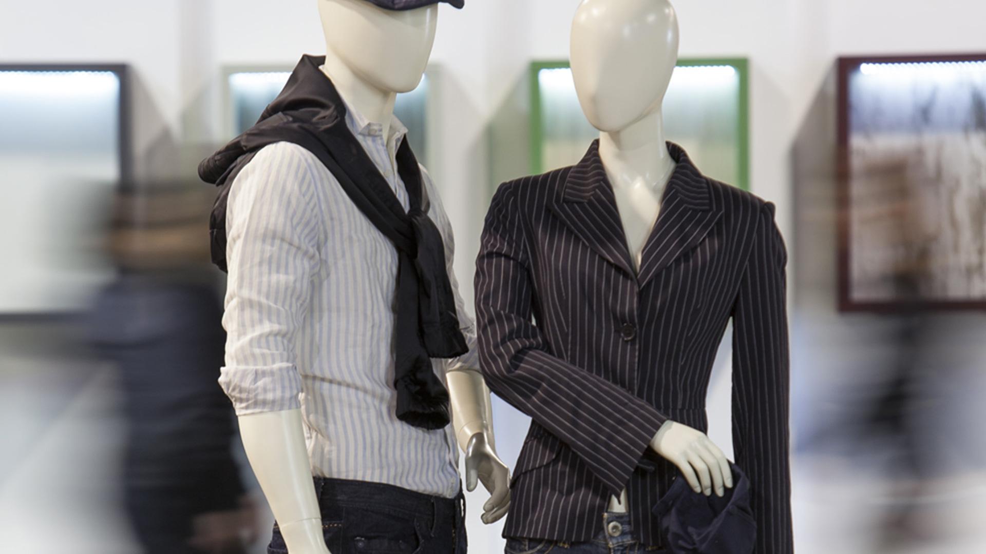 mannequin de vitrine homme femme SlimFit