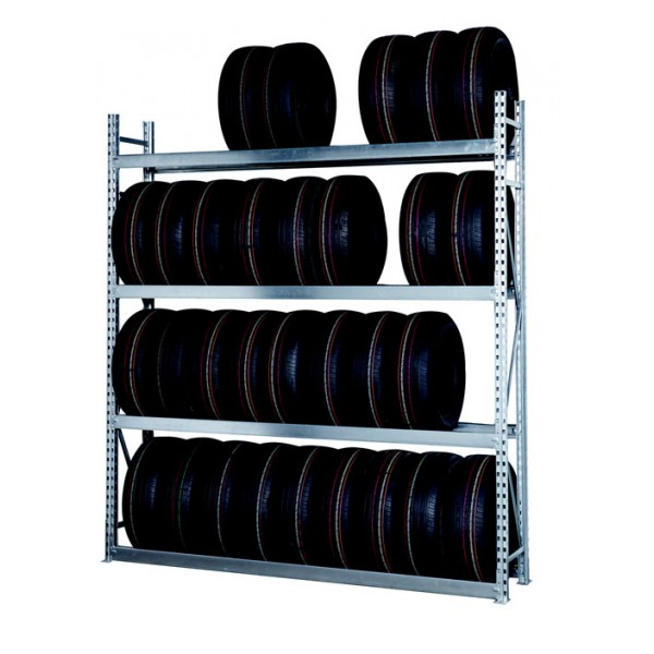 Rayonnage Pneu, Rack, Rayonnage, Stockage, Pneu, Agencement de magasin, Garage, Grande surface automobile