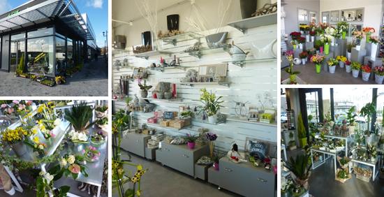 Voici nos r alisations d 39 agencement de magasin equippro - Le comptoir des fleuristes ...