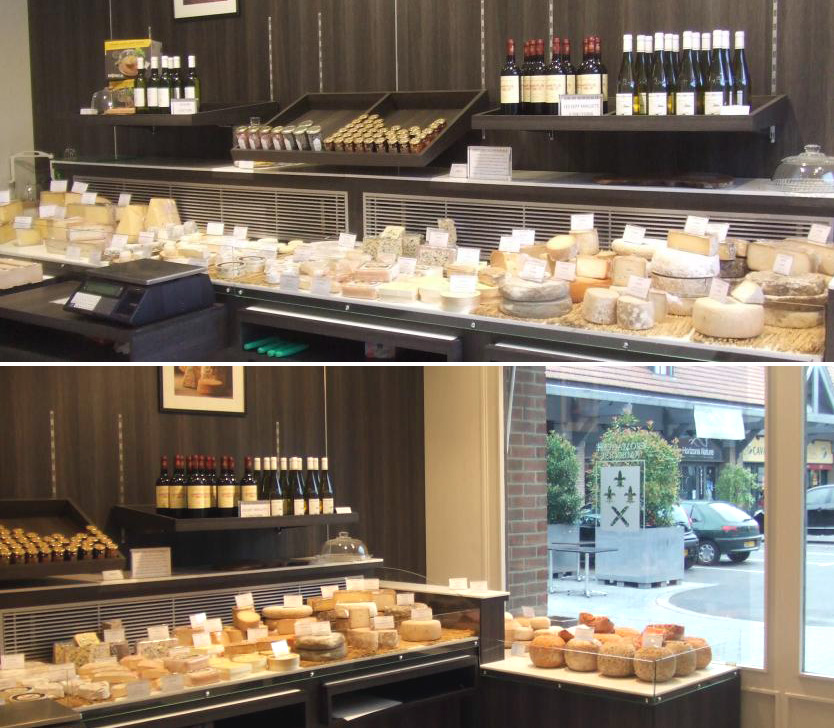 fromagerie, meuble fromage, exposition fromage, agencement de magasin